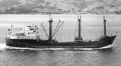 MOANUI  1961 - 1966 Photograph: New Zealand National Maritime Museum